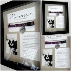 Pet Memorial Shadow Box with Collar Custom by ForeverMyMemories