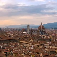#Florence, a center of #art, #architecture, and #culture, has inspired countless writers and artists throughout history. The birthplace of the #Renaissance and gelato, #Firenze is a favorite of many travelers.  Leisurely stroll through the streets, climb to the top of the Campanile to observe the terracotta-roofed city below, stare in awe at Brunelleschi's #Duomo, and watch the sun set over one of the loveliest cities in #Europe. Learn more.   Passion Passport (Video by…
