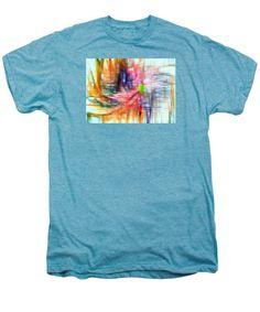 Men's Premium T-Shirt - Abstract 9586