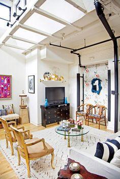 Naomi's House - eclectic - living room - philadelphia - Design Manifest