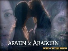 Arwen and Aragorn from Lord of the Rings. Aragorn E Arwen, Best Love Stories, Love Story, Love Dream, The Dark Crystal, Everlasting Love, Good And Evil, Aragon, Magical Creatures