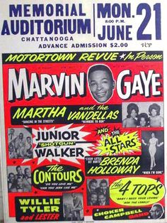 Motortown Revue - What an incredible show that must have been! #Motown