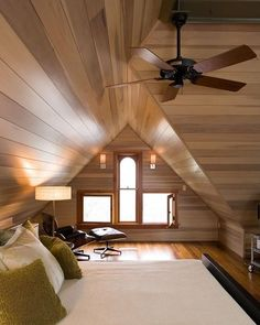 This loft isn't in a Tiny House, but I still enjoy the unusual window configuration.