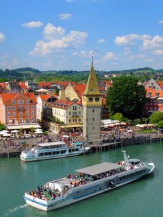 Lindau Port - Austria, doesn't it just look lovely?