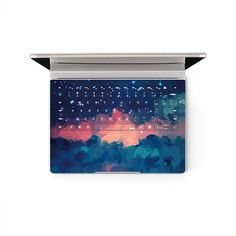 Microsoft Surface Book Decal Red Cloud Keyboard by MixedDecal
