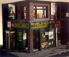 AAA Detective Alan Wolfson - Miniature Urban Sculptures