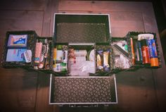 Have an Event Planner emergency kit! We travel with a rolling tool box and MacGyver like instincts to create surprise and delights for every emergency situation! #bespoke #logistics