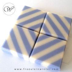 Stripes - cold process soap