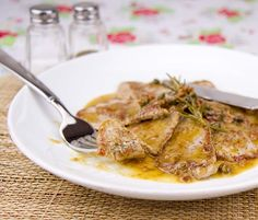 Pork Scallopini with Bacon Caper Jus / @DJ Foodie / DJFoodie.com
