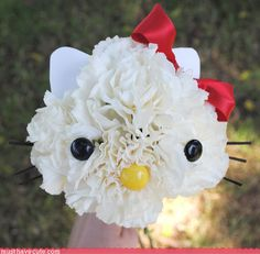 How to make a Hello Kitty bouquet