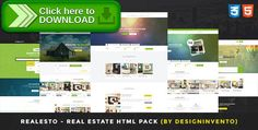 [ThemeForest]Free nulled download Realesto - Real Estate HTML Pack from http://zippyfile.download/f.php?id=27522 Tags: buy, clean, creative, design, html, listing, modern, property, real estate, rental, responsive, sell, site template, template, web design