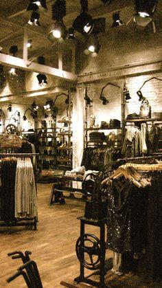 Allsaints Spitalfield.... I saw the Glasgow store. Awesome!