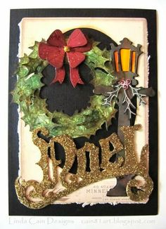 FRIENDS in ART: Vintage Christmas Cabinet Card