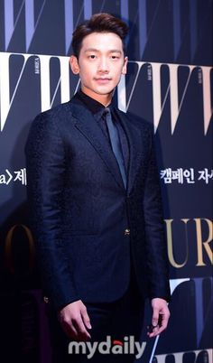 RAIN at the W Korea Breast Cancer charity event.