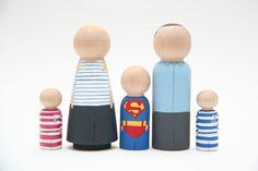 Superman Family par Goose Grease - Les Enfants du Design