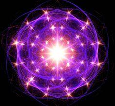 Atomic glow fractal by Art Dream Studio