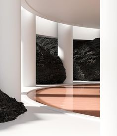 """Image 11 of 13 from gallery of Alexis Christodoulou: """"Anyone Who is Qualified as an Architect Inspires Me"""". Courtesy of Alexis Christodoulou Minimal Architecture, Architecture Images, Space Architecture, Architecture Diagrams, Architecture Portfolio, Exterior Design, Interior And Exterior, Gallery Magazine, Installation Art"""