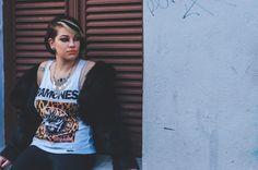 Editorial Glam Rock  PRODUÇÃO: Gabriela Guandet, Giovane Pinheiro e Natalia Emilia FOTOGRAFIA: Guilherme Fernandes MODELO: Ana Roloff