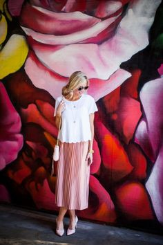 SCALLOPS AND PLEATS - Elle Apparel by Leanne Barlow