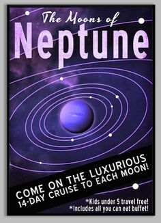 The Moons of Neptune Come on the Luxurious 14-day Cruise to Each Moon