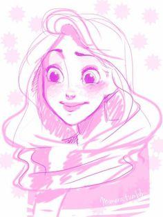Rapunzel at Hogwarts