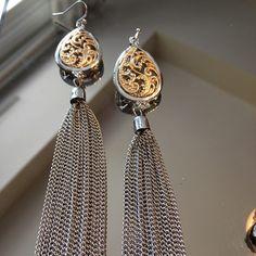 NWOT SILVER TASSEL EARRINGS NWOT SILVER TASSEL EARRINGS Jewelry Earrings