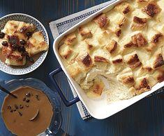 Classic Bread Pudding with Rum-Raisin Sauce - Recipe - FineCooking