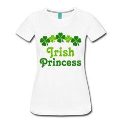 Irish Princess St. Patrick's Day Women's Premium T-Shirt st patricks day decorations, st patricks day crafts, st patricks day, st patricks day party, st patricks day food, st patrick's day ideas, st. patrick's day theme, st. patrick's day activities, t shirts #saint #saintpatricksday #stpatricksday #design #trend #saintpatricksday2018 #patricks #greenday #stpatricksday2018 #style #StPatricksFest #SaintPatricksDay #saint #shamrock #StPatricksDayShirt