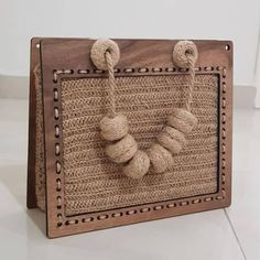 Etsy – Buy handmade, vintage, personalized and unique gifts for everyone – Bag Ideas Handmade Handbags, Leather Bags Handmade, Handmade Bags, Diy Bags Purses, Diy Purse, Mint Bag, Wooden Bag, Crochet Christmas Gifts, Potli Bags