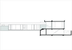 Image 8 of 37 from gallery of BT House / Estudio Jorgelina Tortorici Arq. Photograph by Alejandro Peral Residential Architecture, Architecture Design, Casa Art Deco, Best Modern House Design, Concrete Houses, Basement Plans, Ground Floor Plan, Roof Plan, Architect House