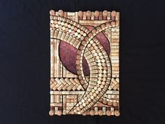 Certainty II - diy wine cork fine artwork kit with full instructions, including base with design drawn off on it, not including corks.