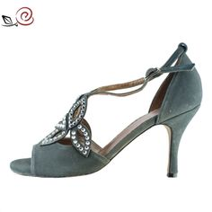 Tango shoes for women with Swarovski elements