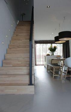 45 ideas kitchen modern stairs for 2019 Stairs To Heaven, Industrial Design Portfolio, Modern Stairs, Piece A Vivre, Villa, Staircase Design, House Goals, Stairways, Interior Design Living Room