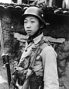 Chinese soldier c. 1940