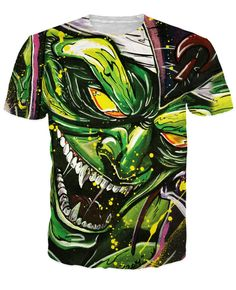 Piccolo the Green Goblin T Shirt Women Men Cartoon Characters t Shirt Summer Style Sport Tops Outfits tshirt Plus Size S 5XL-in T-Shirts from Women's Clothing & Accessories on http://totallyteeshack.blogspot.co.uk/