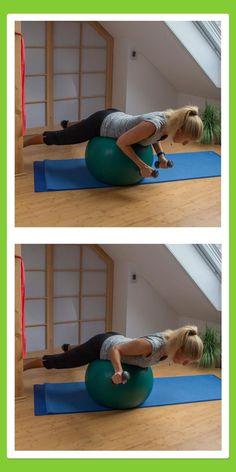 Übungen für den Rücken: Außenrotation liegend