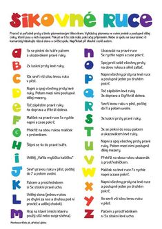 Telocvik s abecedou Pe Activities, Preschool Worksheets, Primary Teaching, Teaching English, Kids Education, Physical Education, School Songs, After School Club, Outdoor Games For Kids