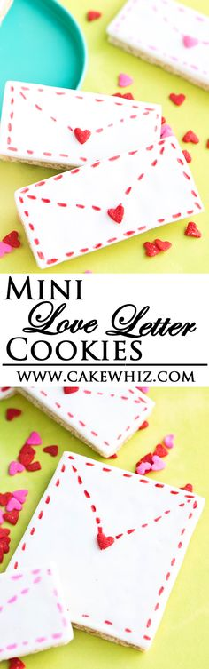 ... Day on Pinterest | Valentine cookies, Love letters and French meringue