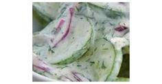 Gurkensalat mit feinem Sahne-Dressing