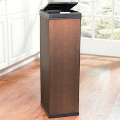Bronze Kitchen Trash Can Design Ideas