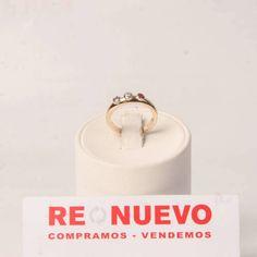 Alianza de oro con brillante y rubíes E278265G | Tienda online de segunda mano en Barcelona Re-Nuevo