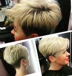 @nadyachicha #pixie #haircut #short #shorthair #h #s #p #shorthaircut #hair #b #sh #haircuts #blonde #blondehair #blondehairdontcare #blondeshavemorefun #platinumhair
