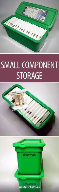 Small Component Storage From Ariel 3 in 1 Wash Pods Box
