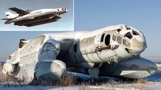 Bartini Beriev VVA-14, a Soviet vertical take-off amphibious aircraft (1970s)