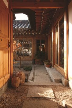Maison traditional home in Korea