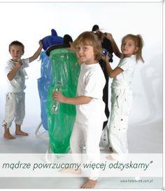 Dzieci promują ekologię - segregacja śmieci