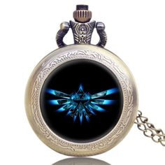 - This is perfect for any The Legend of Zelda fanatics! - While Supplies Last! Limit 10 Per Order Please allow 4-6 weeks for shipping Item Type: Pocket Watch Movement: Quartz Diameter: About 3.55cm Th