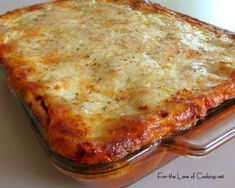 Chicken and Roasted Garlic Lasagna easy to put together made with roast chicken.