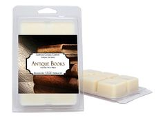 Wax Melts  2 Pack  Antique Books  Large 5.3 oz Per Pack Of