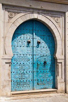 Colori e luci tipiche della Tunisia